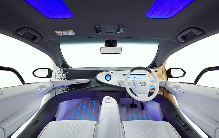 Toyota LQ Cockpit