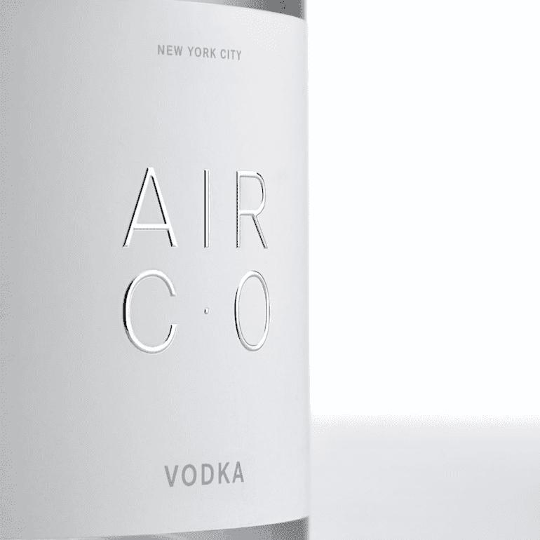 Air Co. Vodka Etikett