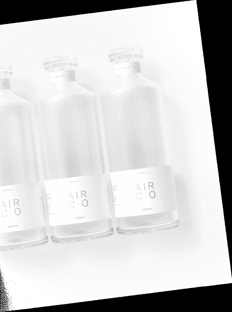 Air Co Vodka Flaschen