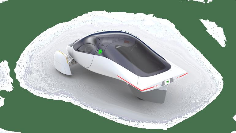Aptera Auto mit Solardach