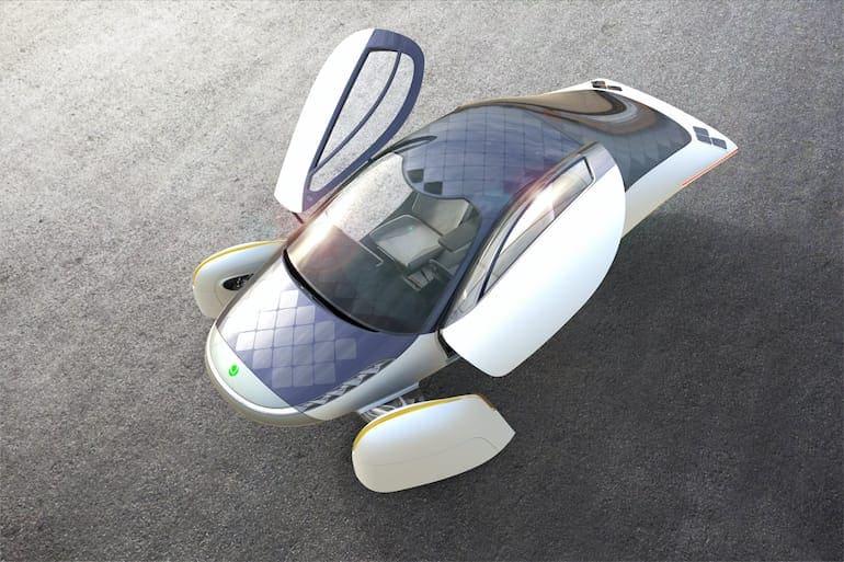 Aptera Solarauto Türen