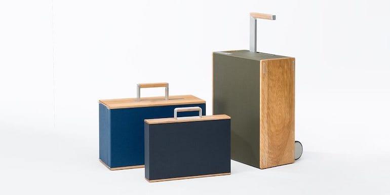 Holzgepäckstücke von CharlesSimon