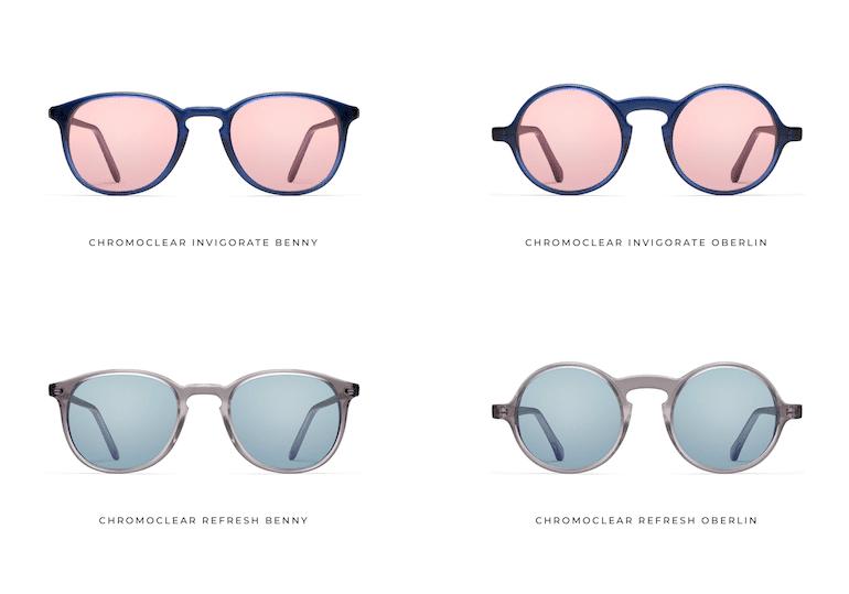 Chromeclear Brillen Modelle