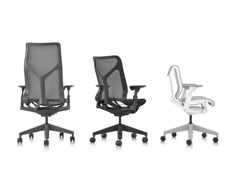 Cosm Stühle von Herman Miller - Ansichten