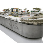 Formular 1 Slot Car Racetrack Abbildung