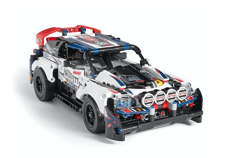 Lego Top Gear Rally Car 42109 Building Kit