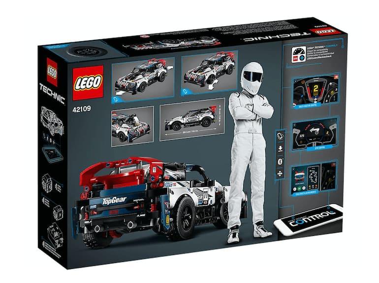 Lego Top Gear Rally Car Verpackung