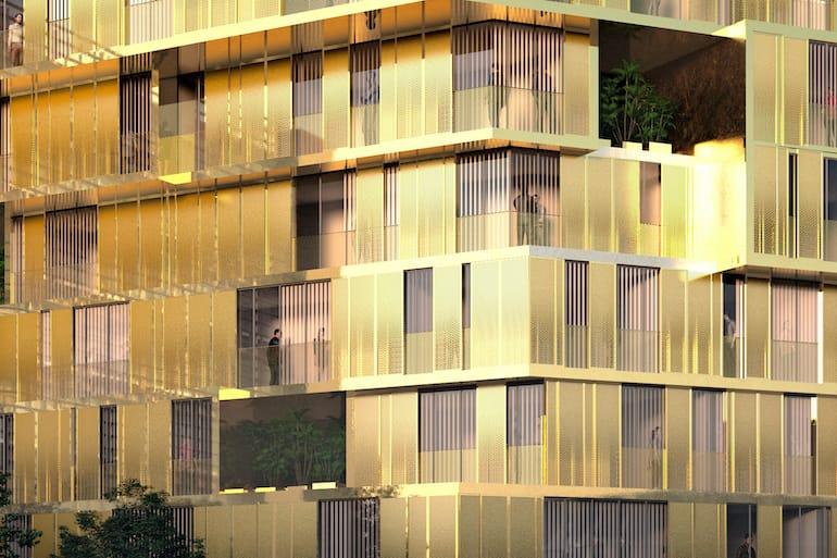 GOLDEN CITY Haus Details