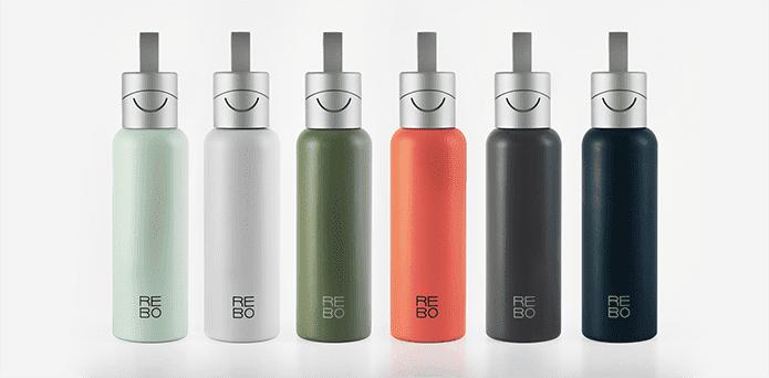 REBO Bottle Trinkflasche - Farben