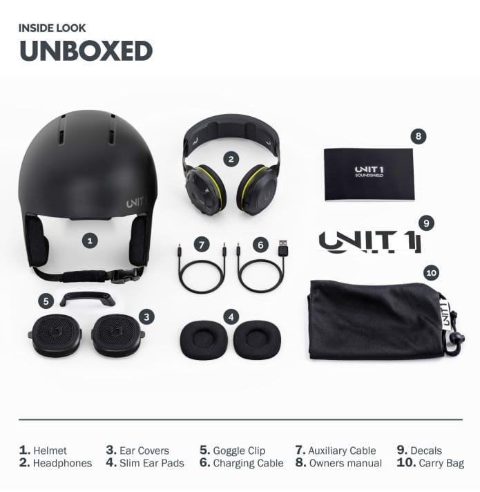 Unit 1 Soundshield Lieferumfang