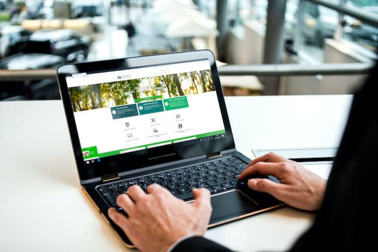 ViveLaCar auf dem Laptop