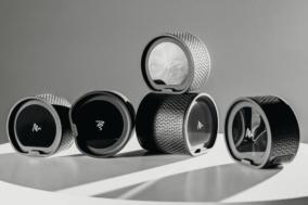 Air by Quirky Lautsprecher-System in Schwarz