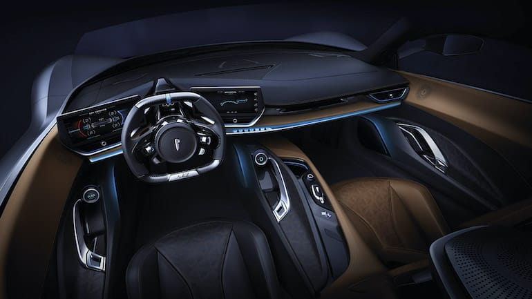 Pininfarina Battista Cockpit