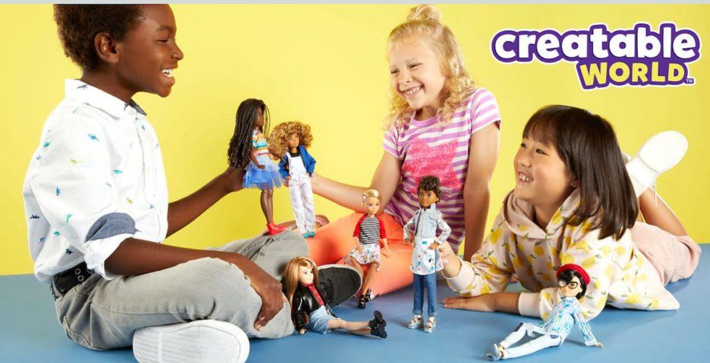 Creatable World - Genderfreie Puppen von Mattel