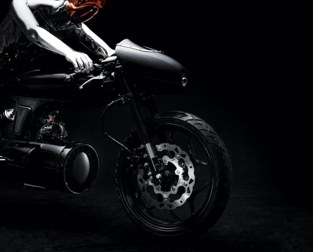EVE 2020 Motorrad - Detailansicht