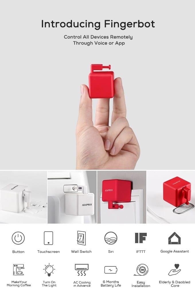Fingerbot Smart Home Control