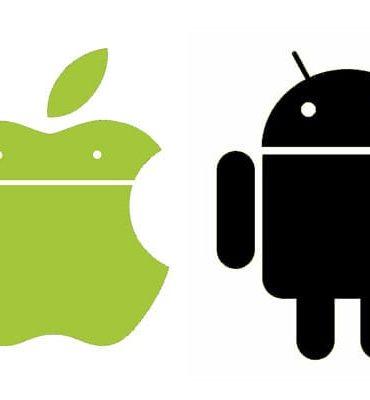 iOS vs Android Logos