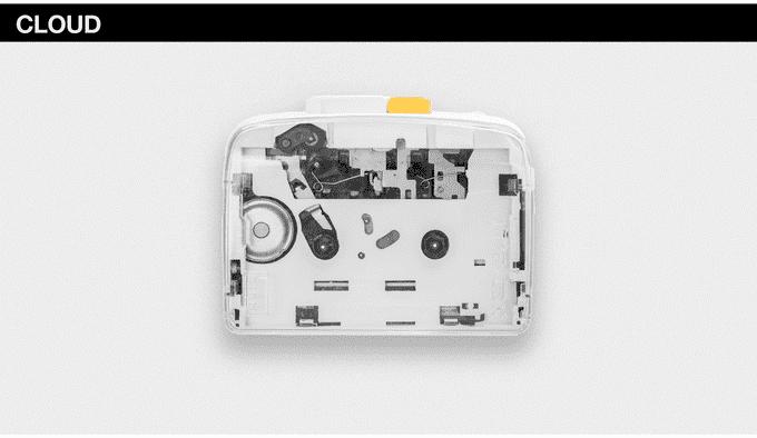 It´s Ok Cassette-Player - Cloud