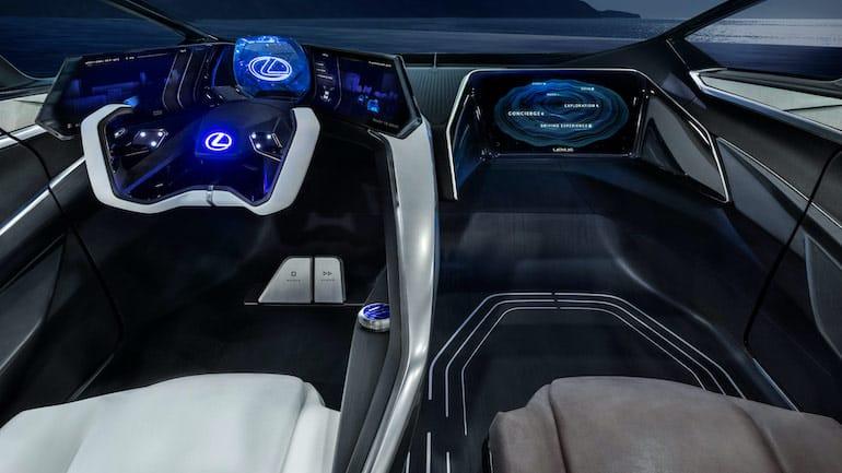 Lexus LF-30 Cockpit