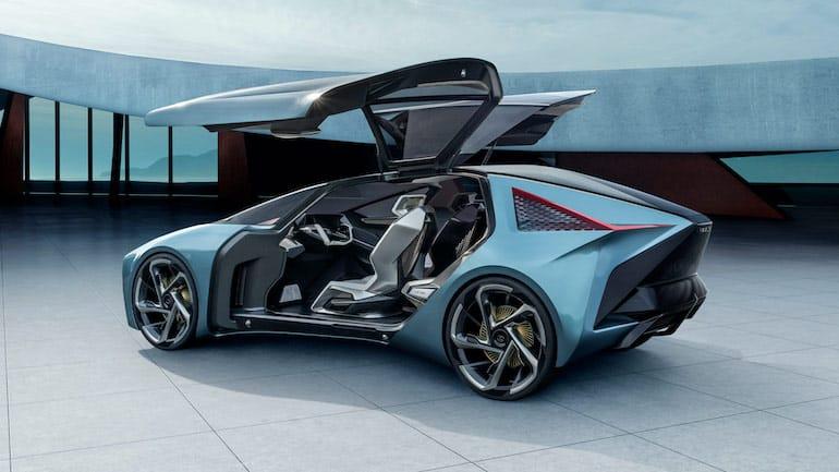 Türen des Lexus LF-30 Elektroauto Konzepts