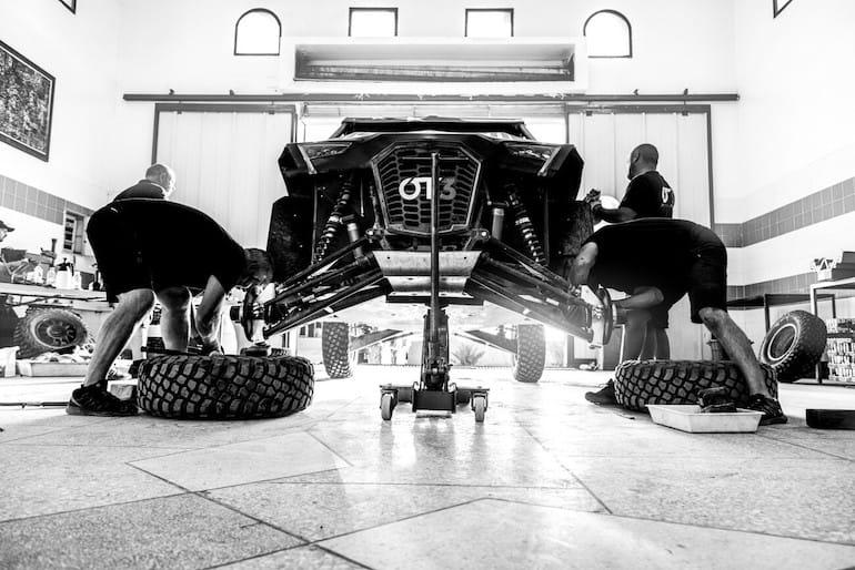 Overdrive Buggy OT3 - Werkstatt