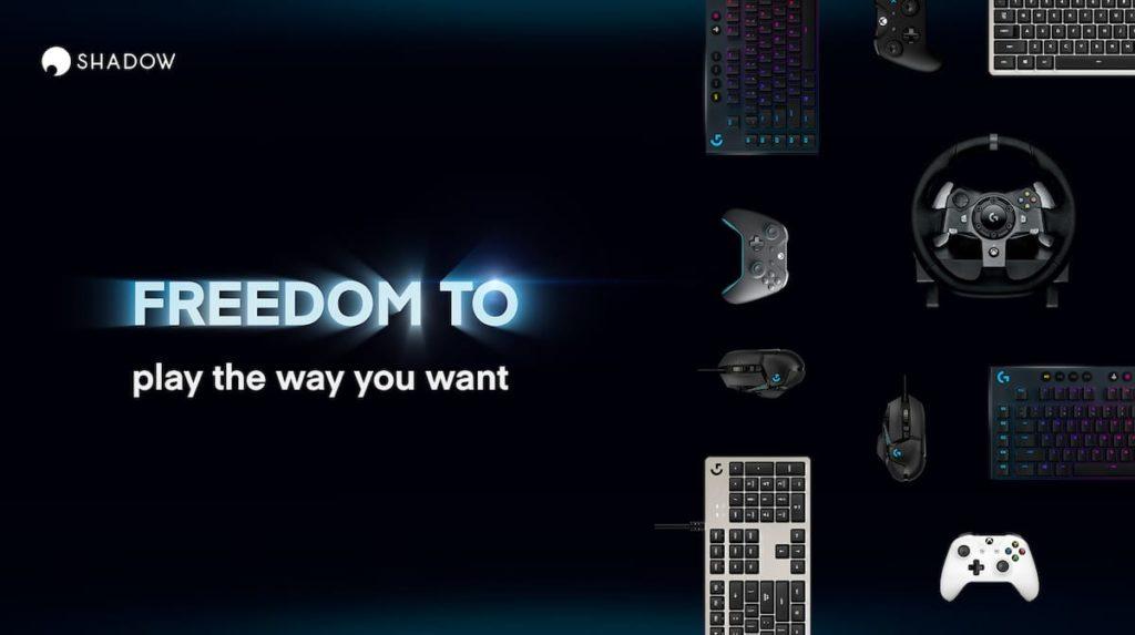 Shadow Cloud Gaming Plattform
