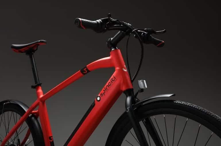 Spinciti E-Bike in Rot