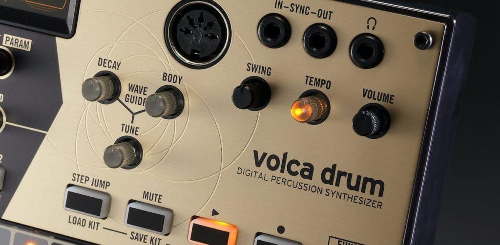 VolcaDrum Synthesizer - Detailansicht