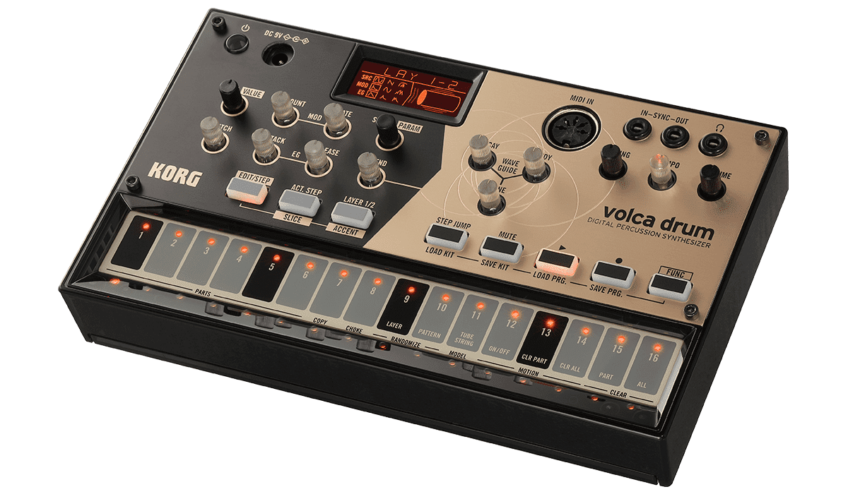 VolcaDrum Synthesizer