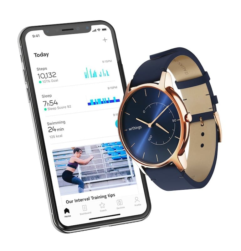 Withings Move mit Smartphone App