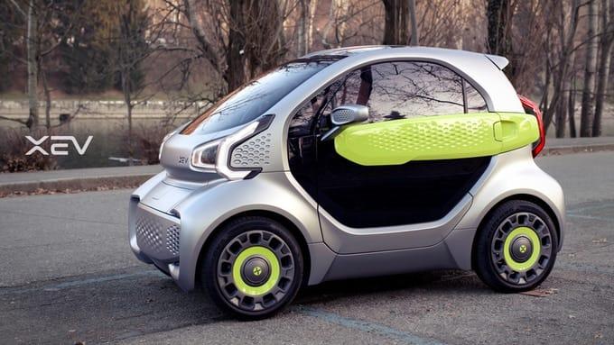 XEV YOYO Elektroauto aus dem 3d-Drucker