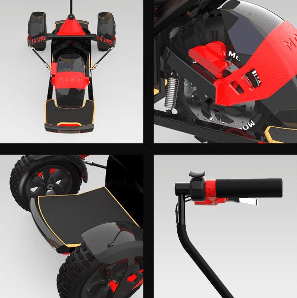 YX ONE Elektroboard - Bilder