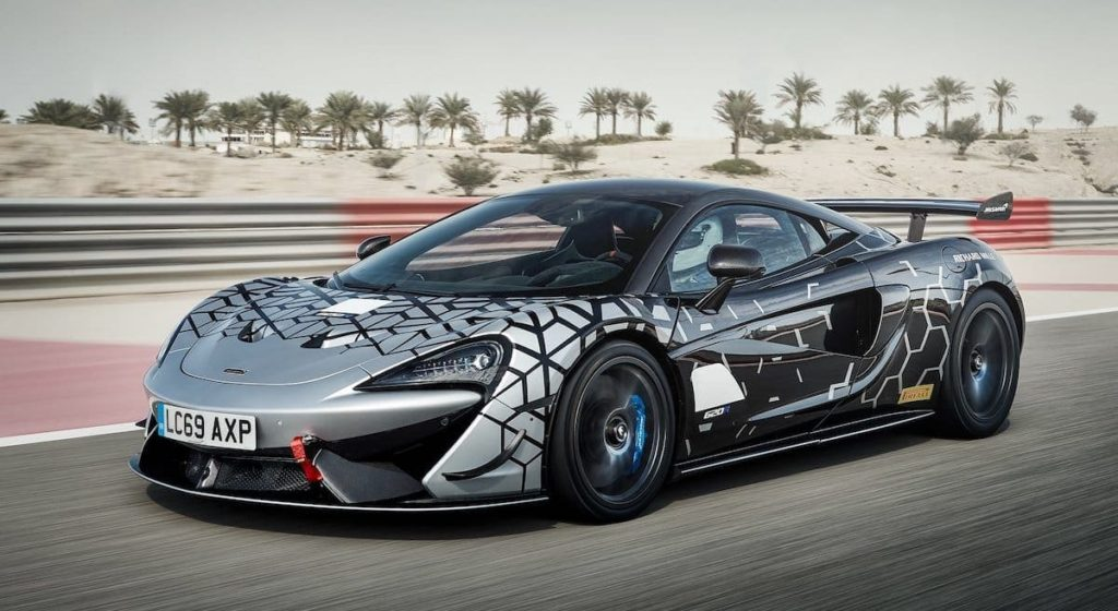 620R Rennwagen von McLaren
