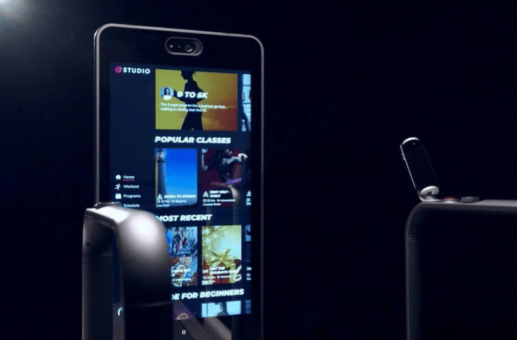 Amazfit HomeStudio Bildschirm und Bedienelemente