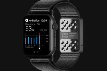 AURA Strap - Gesundheits-Armband für die Apple Watch
