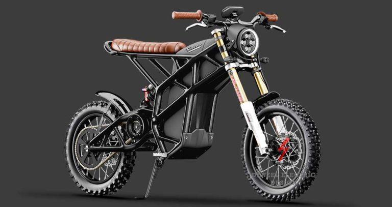 Denzel Truvor Scrambler E-Motorrad