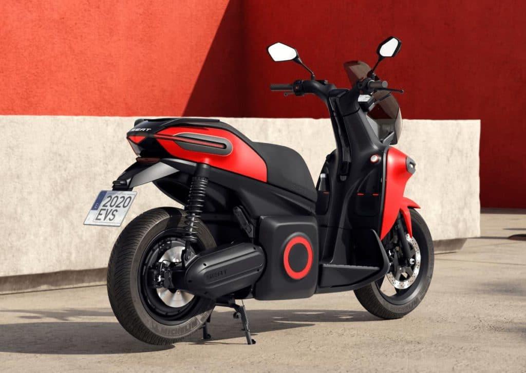 2020 e-Scooter Concept von Seat