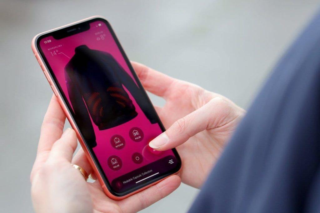 Heatable Capsule Collection - Telekom App