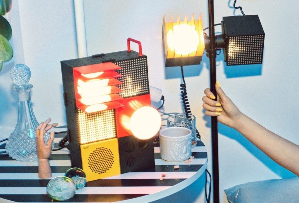 IKEA Frekvens Licht und Audio Produkte 2020