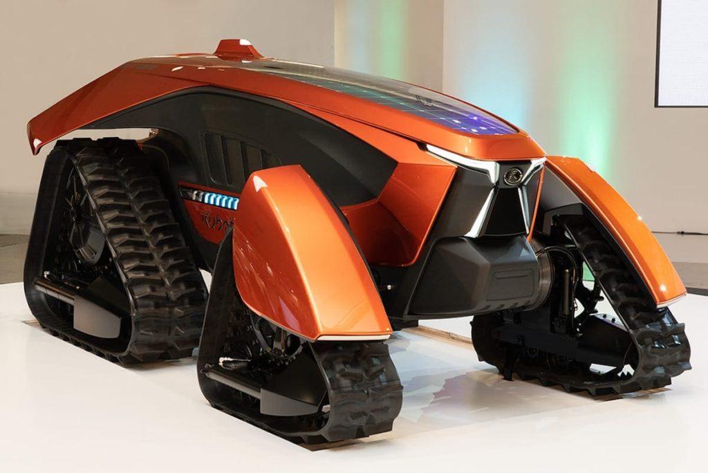 Kubota x tractor Konzept