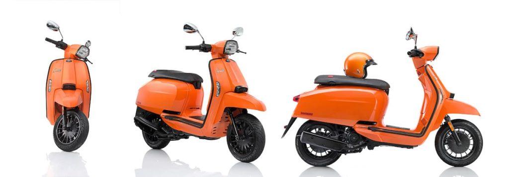 V200 Special Roller in Orange