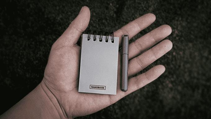 Nanobook 2.0 Notizblock