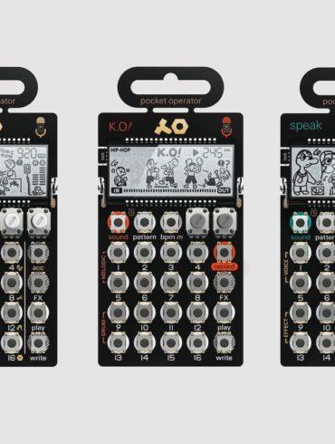 Pocket Operator tonic - K.O. und speak