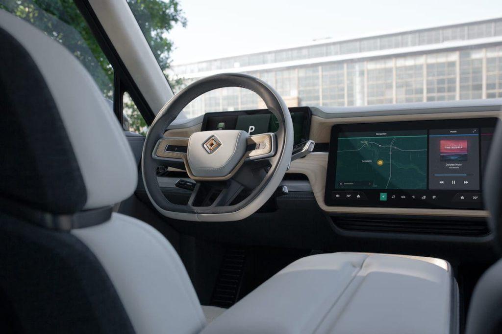 Rivian R1S SUV Cockpit
