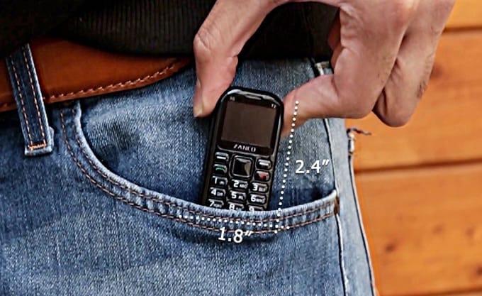 Tiny T2 Minitelefon - Jeanshose