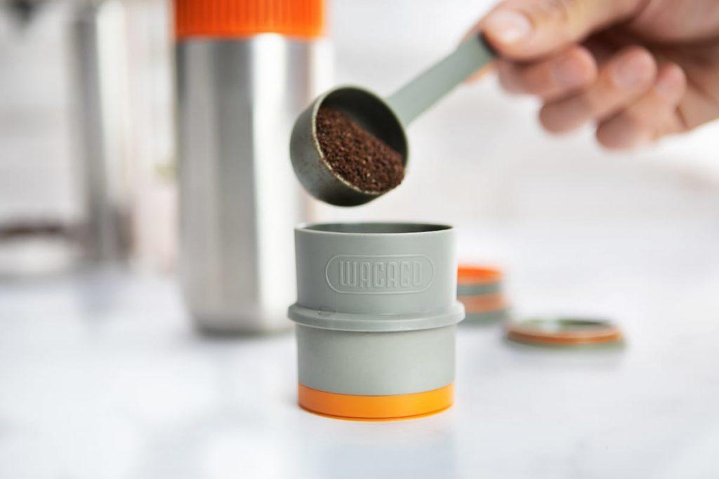 Pipamoka Minipresso - Kaffee-Dosierung