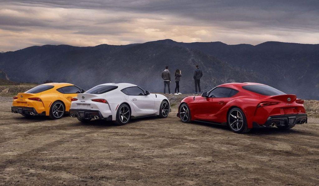 Toyota 2020 GR Supra - Farben