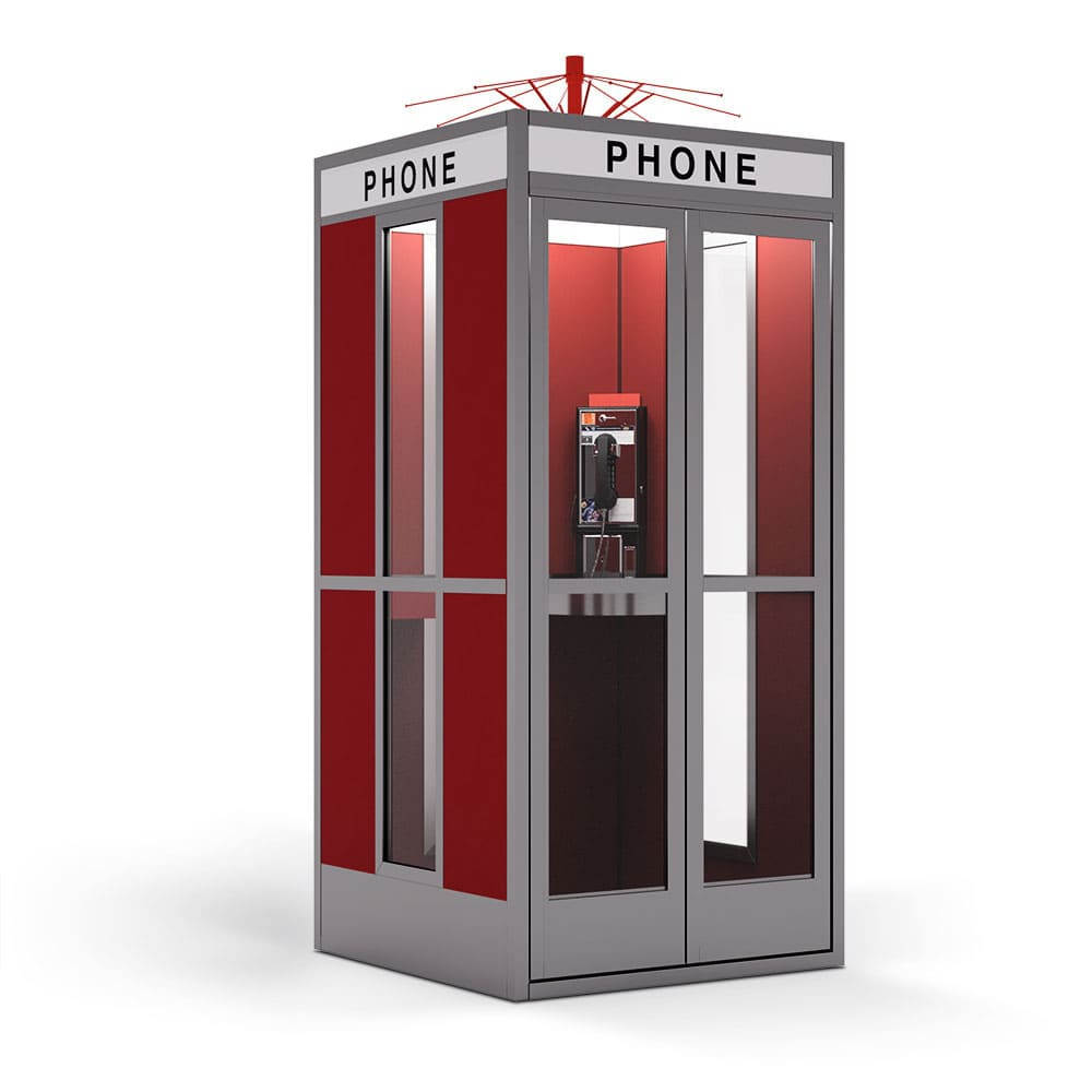 Detailansicht - Bill & Ted's Excellent Phone Booth