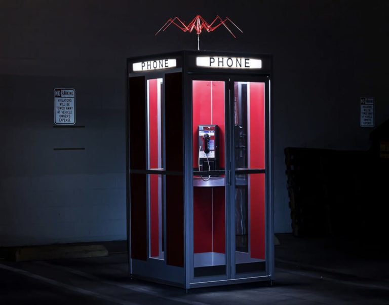 Bill & Ted's Excellent Phone Booth - Telefonzelle