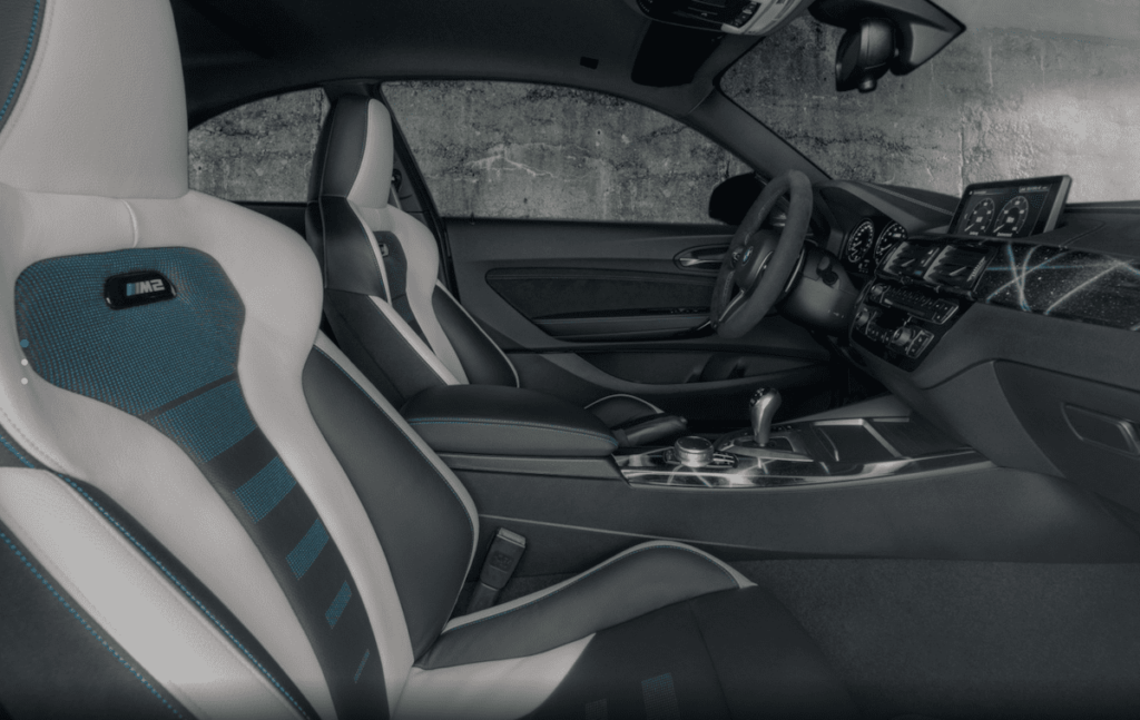 Cockpit des BMW M2 Futura Edition